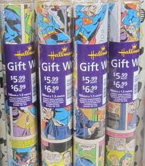 comic wrapping paper comic wrap a hot seller australian newsagency