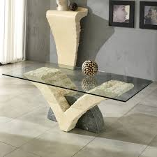 stone and glass coffee table fossil stone and glass coffee table coffee table design