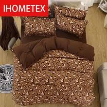 Brown Duvet Cover King Compare Prices On Blue Brown Duvet Online Shopping Buy Low Price