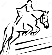 4 234 horse jumping stock vector illustration and royalty free