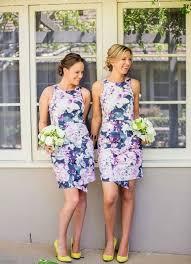 floral bridesmaid dresses 33 floral printed bridesmaid dresses happywedd