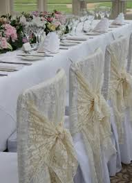 lace chair covers corporate chair covers trimmings seventh heaven