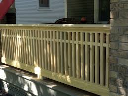 porch banister milestone thirty one feet of craftsman style porch railing by