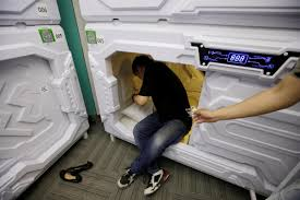 Google Sleep Pods Tired Tourists Can Now Pay 70p To Take A Midday Nap In Hotel Pods