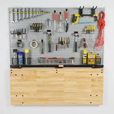 folding workbench space saving ideas blog bench solution