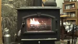 burning pellets in a wood stove with an ammo can youtube