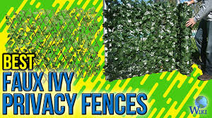 7 best faux ivy privacy fences 2017 youtube
