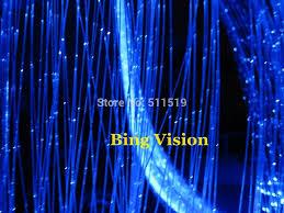 fiber optic light strands side glow sparkle fiber optic light strands 1 0mm 1500m roil for