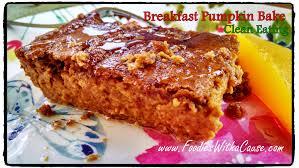 rv cuisine breakfast pumpkin pudding bake grain free clean