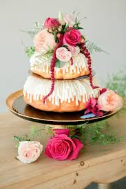 gorgeous modern loft wedding ideas donut cakes cake and donuts