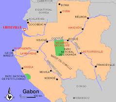 gabon in world map gabon 1996