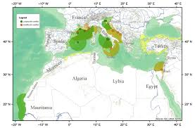 Map Of The Mediterranean The Mediterranean U0027s Missing Sawfishes U2013 Phenomena
