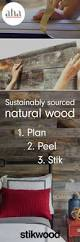 stikwood peel u0026 stick real wood planks 20 sq ft wood planks