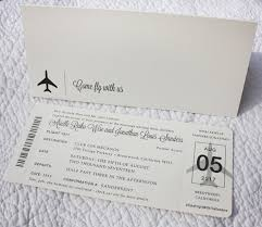 boarding pass wedding invitations come fly with us airplane boarding pass wedding invitations