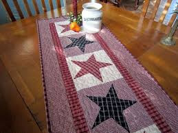 Primitive Table Runners 22 best quilts for sale in my etsy shop quilted by tommy d