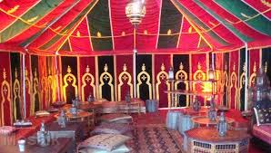 moroccan tents moroccan themed wedding