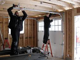 garage simple tips to install roll up garage doors home depot