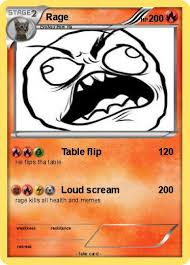 Meme Throw Table - pokémon rage 446 446 table flip my pokemon card