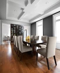 dining room table with wine rack wall wine rack dining room contemporary with architectural ceiling