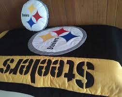 Pittsburgh Steelers Comforter Set Steelers Quilt Etsy