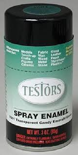 buy transparent candy green enamel paint 3oz spray can online at