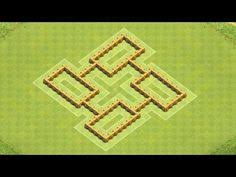 coc village layout level 5 clash of clans town hall 5 trophy war base speed build best coc