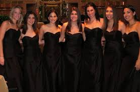 black bridesmaid dresses black bridesmaid dresses a do or a don t