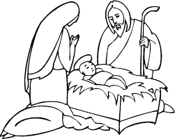 christmas nativity coloring pages wallpapers9