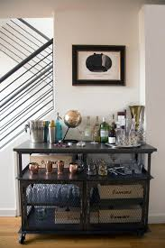 Tuscan Home Accessories Photos Hgtv Stacked Shelf Wet Bar Cart With Grated Cabinet Doors