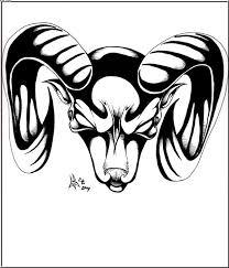zodiac aries tribal stencil tattooshunter com