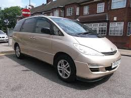 toyota previa used 2004 toyota previa 2 0 d 4d t spirit 5dr 7 seat for sale in