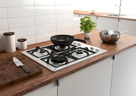 Design Ideas For Gas Cooktop With Downdraft Kitchen Downdraft Gas Ranges With White Tile Backsplash Also