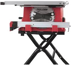 10 In Table Saw Skil Portable Table Saw Folding Stand 120 V 13 A 1800 W 10 In