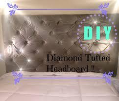 Tufted Headboards Diy Diy Budget Friendly Tufted Headboard Youtube