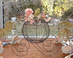 Cinderella Centerpieces One Of A Kind Flower Gifts Enchanting Flower Table Displays