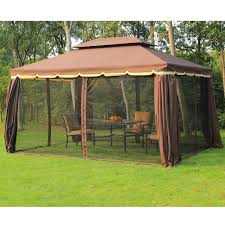 Patio Gazebos by Outsunny 3 X 4 M Aluminium Metal Gazebo Marquee Canopy Pavilion