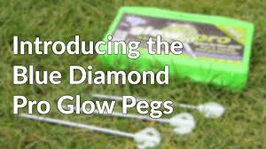Awning Pegs Blue Diamond Pro Glow Awning And Tent Pegs Youtube