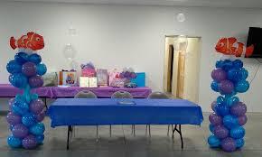 nemo baby shower nemo baby shower balloon decor from balloon arrangments and decor