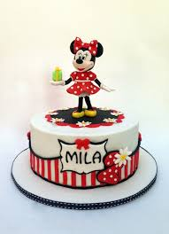 Red Minnie Mouse Cake Decorations 107 Best Minnie And Mickey Mouse Cakes Images On Pinterest Cakes