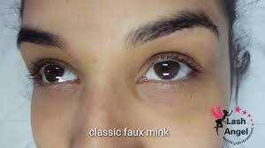 lash extensions classic faux mink lashes by vanessa at lash angel