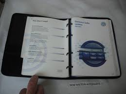 volkswagen golf mk4 owners instruction handbooks and wallet