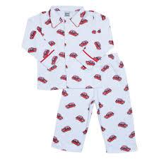 boys pyjamas mini cooper print 100 cotton at pixie dixie this