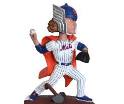 mets noah syndergaard as thor bobblehead has phallic shaped hammer