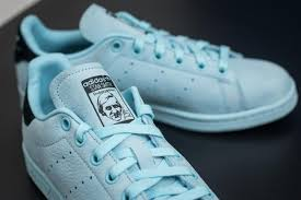 stan smith light blue adidas stan smith w icey blue icey blue core black footshop