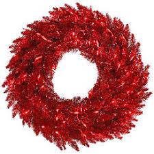 vickerman wreaths incandescent kmart