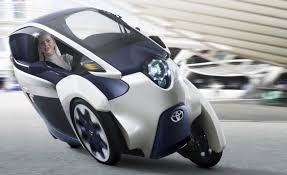 car toyota is toyota u0027s 3 wheel iroad the future of cars ces 2014 youtube