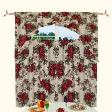 Christmas Kitchen Curtains by Kitchen Wooden Piece Used Like Curtain Christmas Kitchen Curtains
