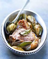 cuisiner une cote de veau côte de veau et pommes de terre au laurier pour 2 personnes
