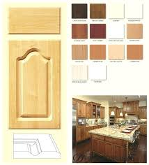 cathedral style kitchen cabinets natural cherry kitchen cabinets