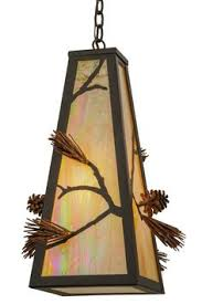 Western Pendant Lighting Western Pendant Lighting With Rawhide Shade A Western Rustic